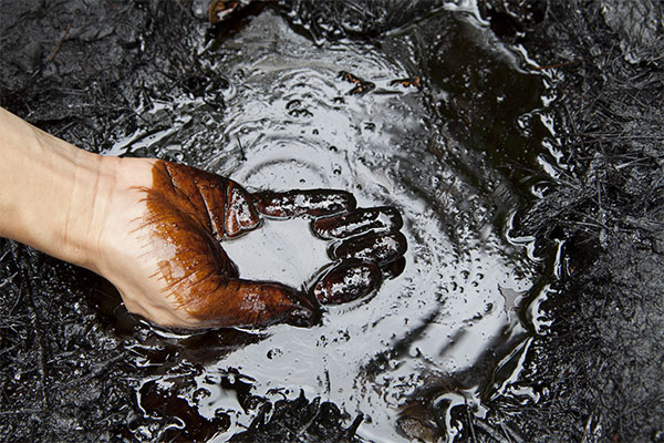 Oil-contaminated-soil