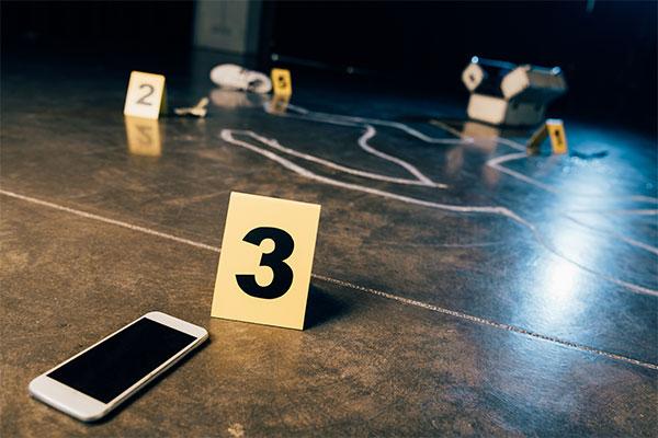 Chalk Outline-Crime Scene Cleanup